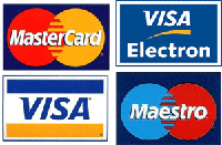You can purchase our IPTV player using Visa and Mastercard